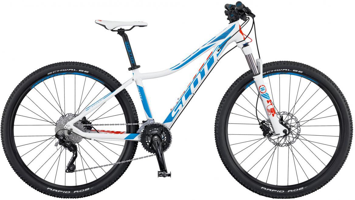 Велосипед женский Scott Contessa Scale 700 2016, цвет: белый, рама 18, колесо 27,5265576