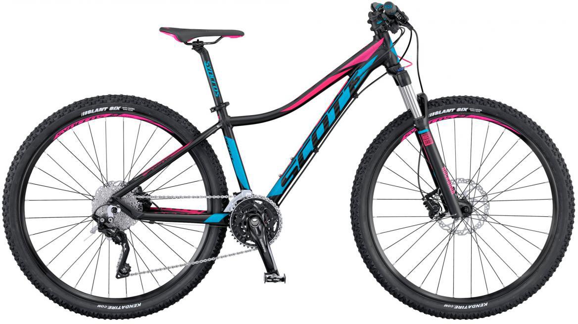 Велосипед женский Scott Contessa Scale 710 2016, цвет: синий, рама 14, колесо 27,5265581