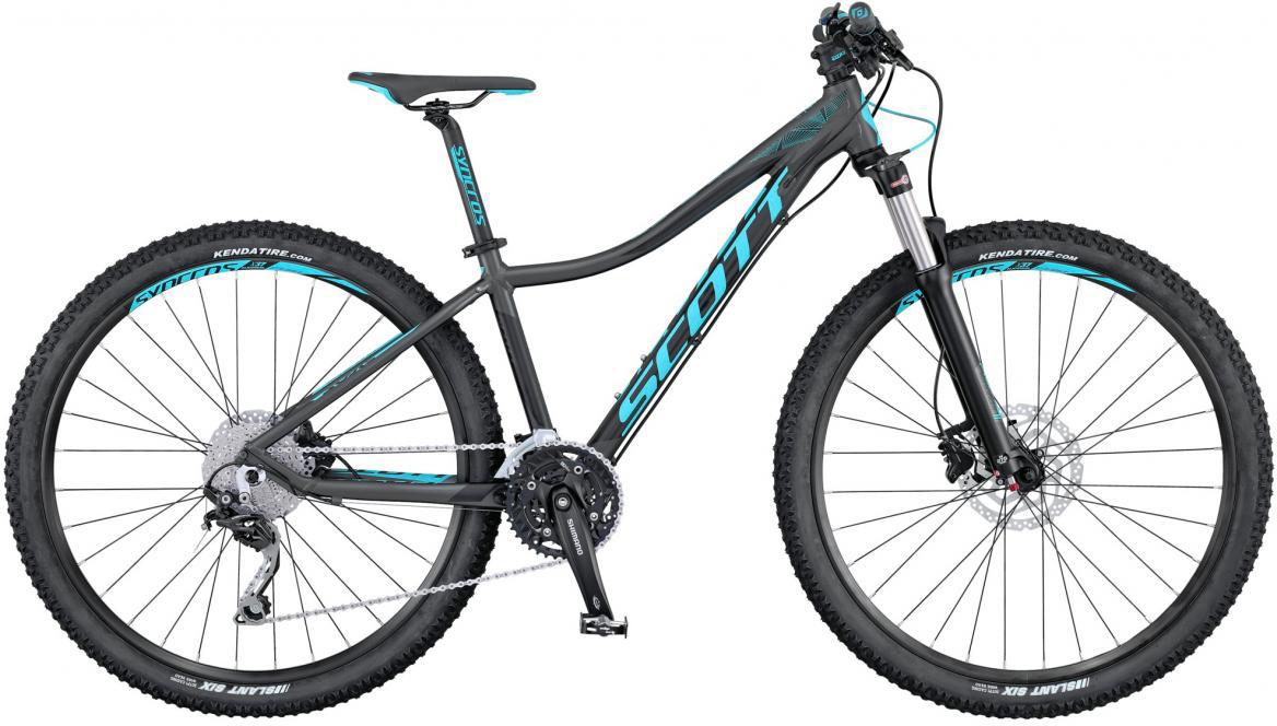 Велосипед женский Scott Contessa Scale 720 2016, цвет: серый, рама 14, колесо 27,5265587