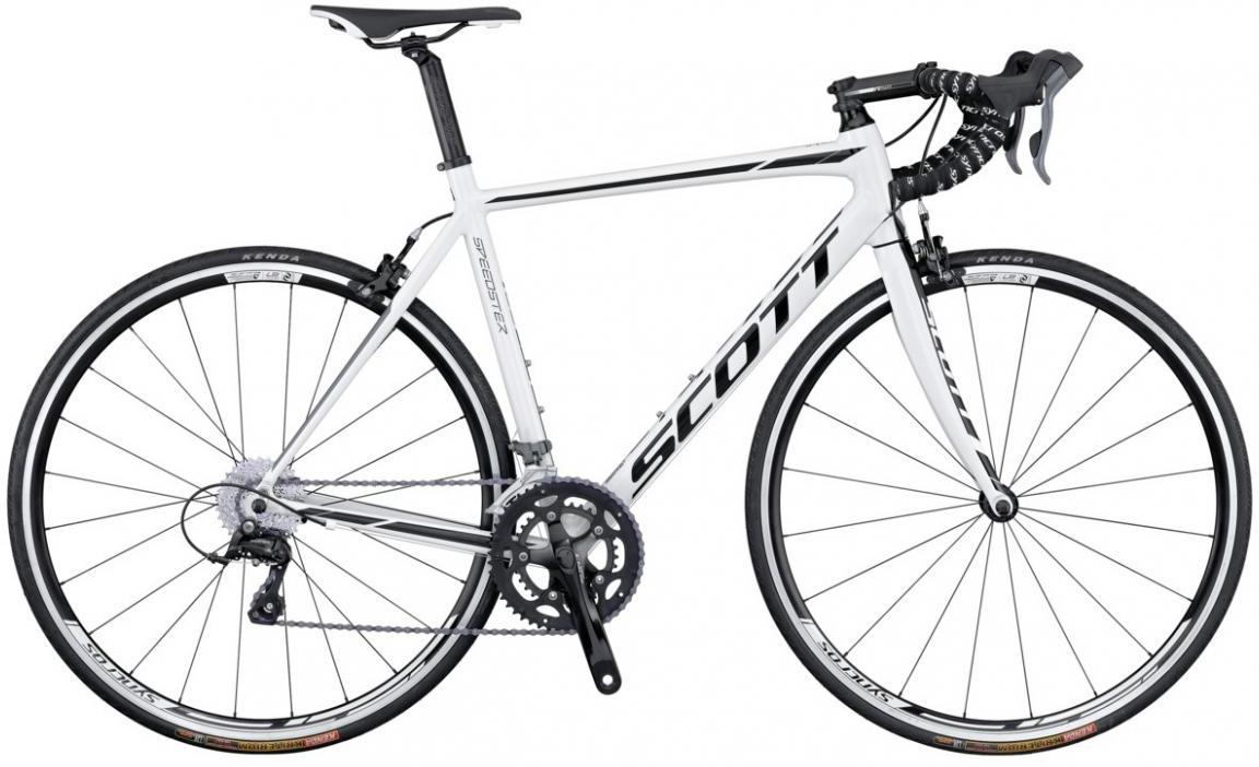 Велосипед шоссейный Scott Speedster 50 (24) 2016, цвет: белый, рама 21, колесо 28265593