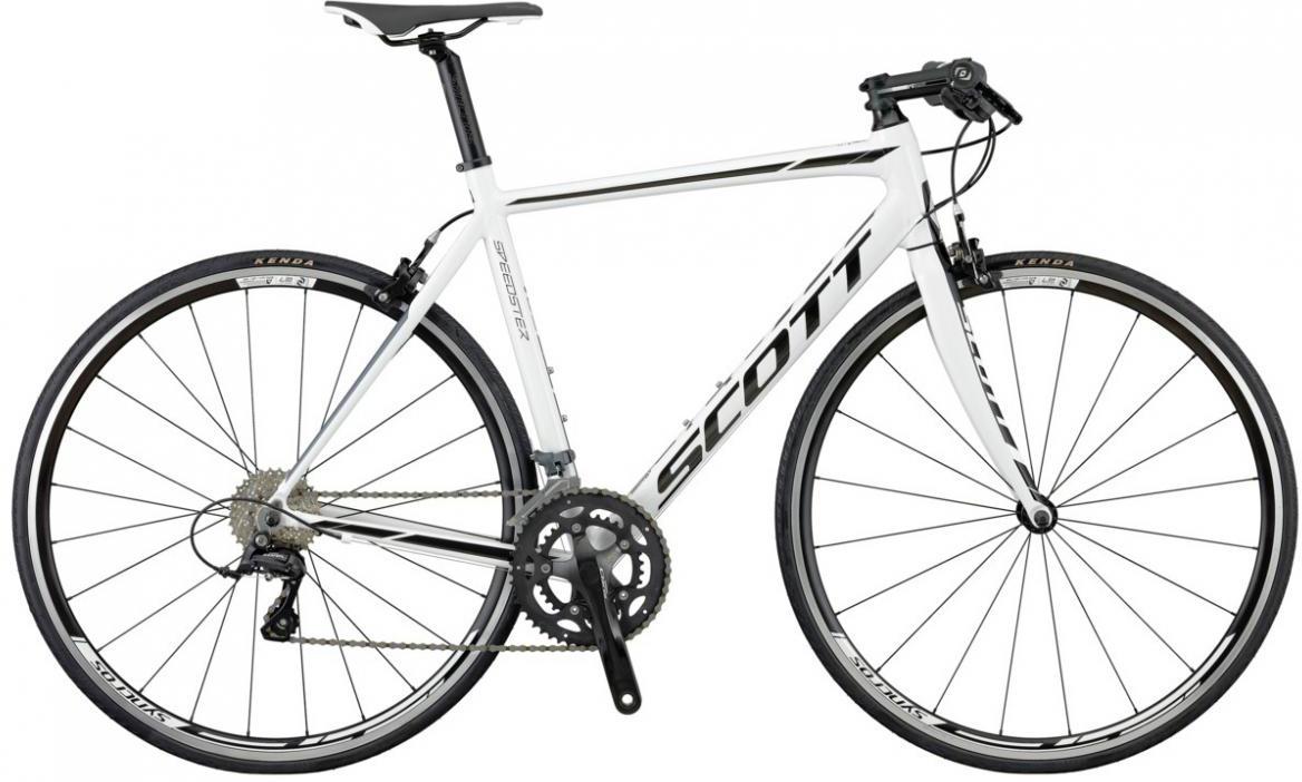 Велосипед шоссейный Scott Speedster 50 FB 2016, цвет: белый, рама 24, колесо 28265613