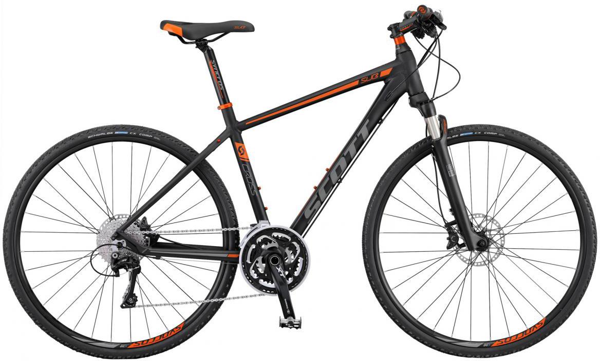 Велосипед городской Scott Sub Cross 10 2016, цвет: серый, рама 22, колесо 28265621