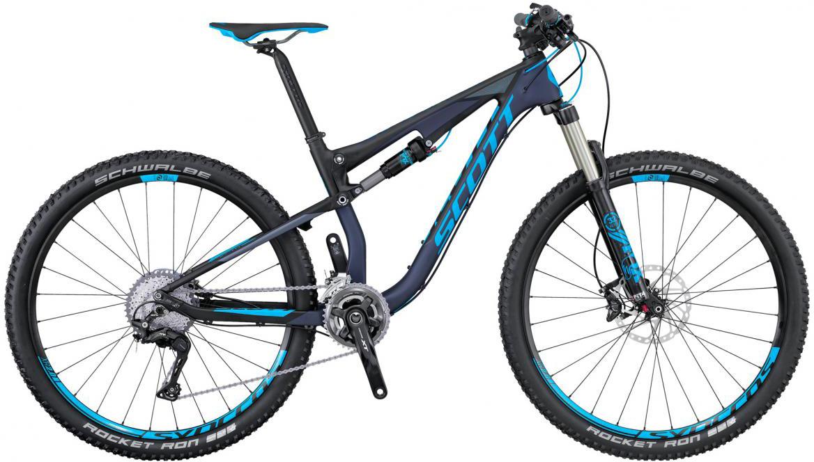 Велосипед горный Scott Contessa Spark 700 RC 2016, двухподвесный, цвет: синий, рама 16, колесо 27,5265632