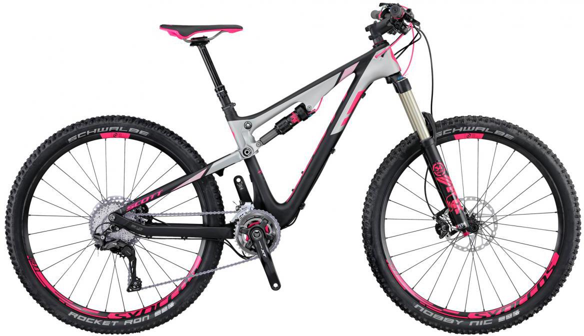 Велосипед горный Scott Contessa Genius 700 2016, двухподвесный, цвет: черный, рама 20, колесо 27,5265648