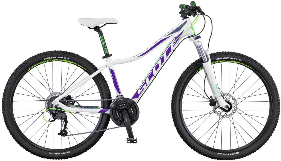 Велосипед женский Scott Contessa 720 2016, цвет: белый, рама 16, колесо 27,5265667