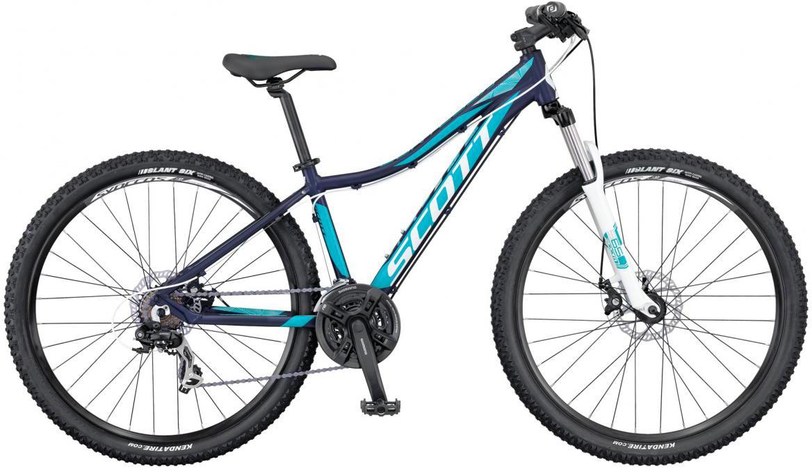 Велосипед женский Scott Contessa 740 2016, цвет: синий, рама 14, колесо 27,5265683