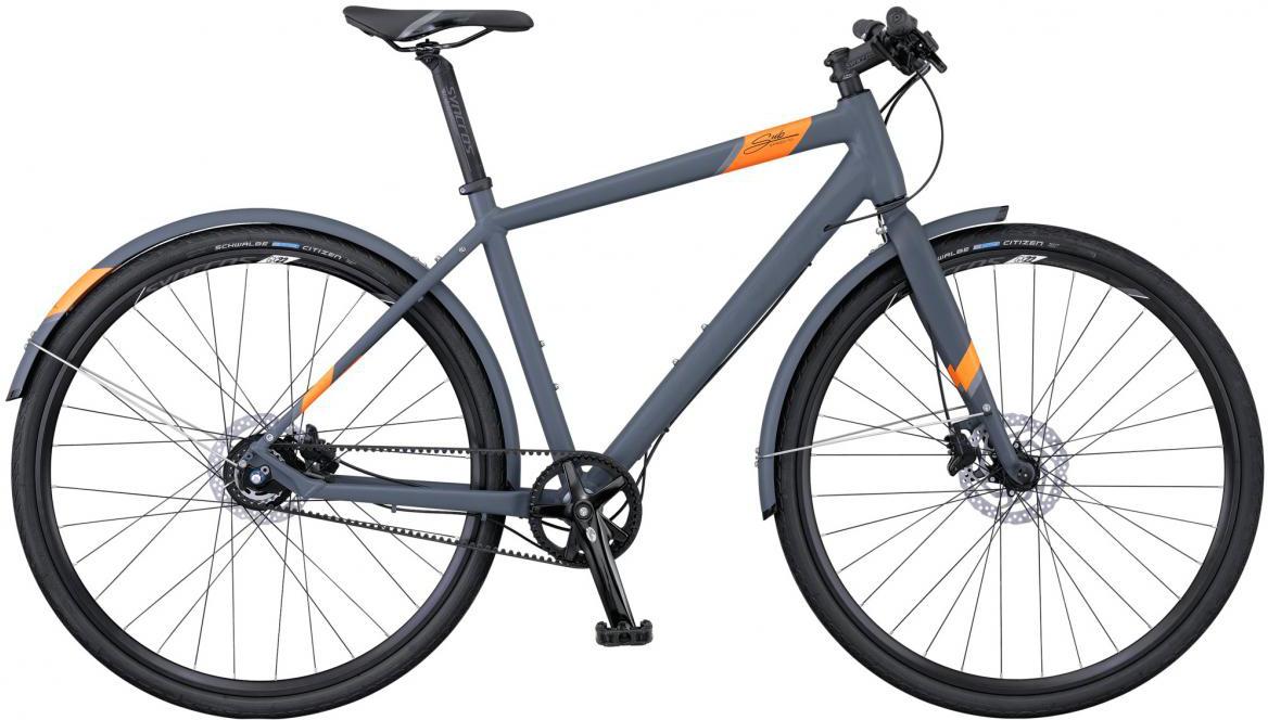 Велосипед городской Scott Sub Speed 10 2016, цвет: серый, рама 14, колесо 28265691