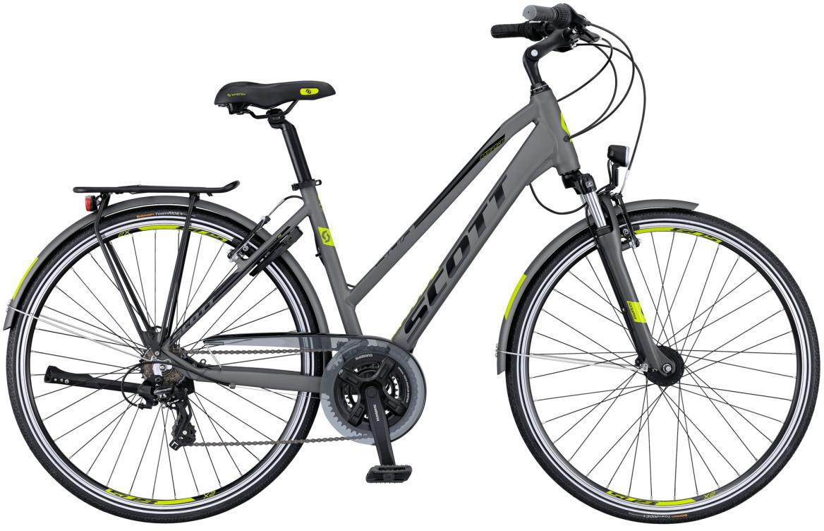 Велосипед городской Scott Sub Comfort 20 Lady 2016, цвет: серый, рама 18, колесо 28265700