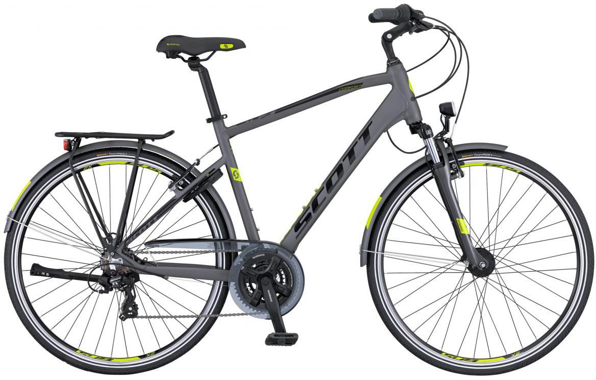 Велосипед городской Scott Sub Comfort 20 Men 2016, цвет: серый, рама 20, колесо 28265720