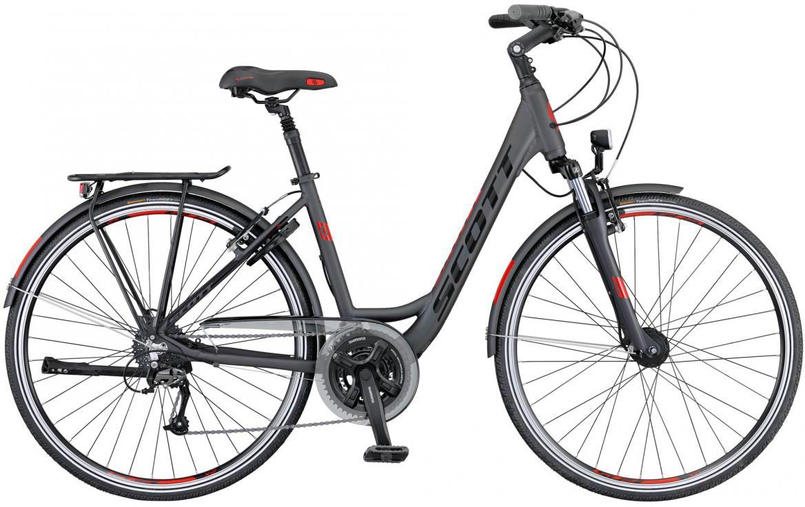 Велосипед городской Scott Sub Comfort 10 Unisex 2016, цвет: серый, рама 16, колесо 28265722
