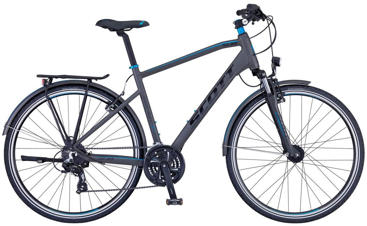 Велосипед городской Scott Sub Sport 30 Men 2016, цвет: серый, рама 18, колесо 28265740