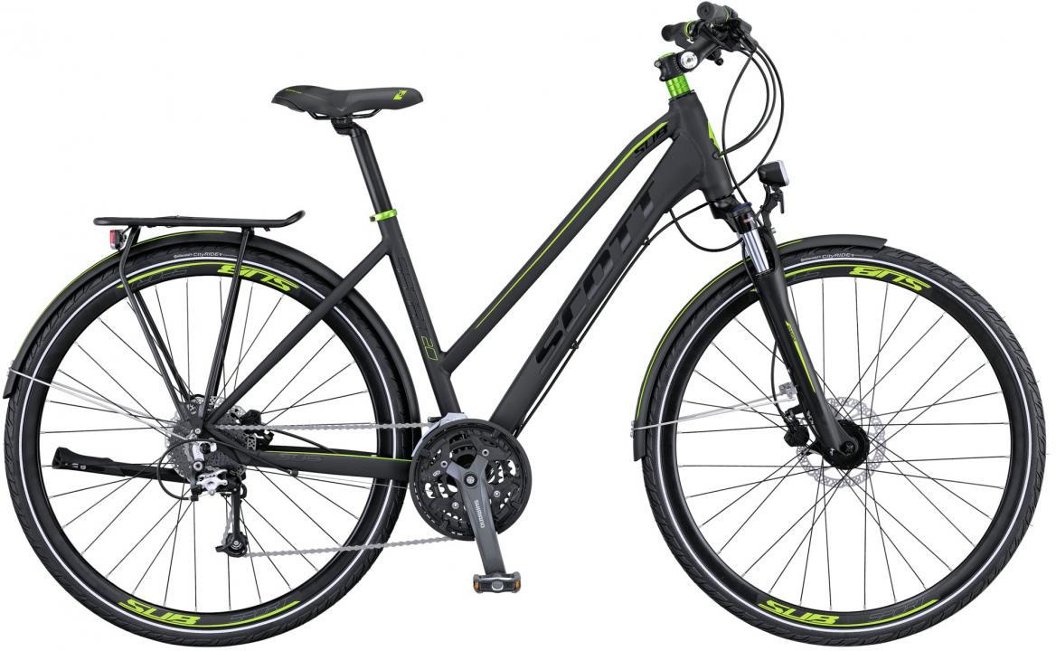 Велосипед городской Scott Sub Sport 20 Lady 2016, цвет: черный, рама 18, колесо 28265755