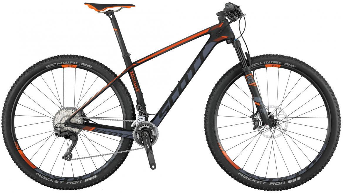 Велосипед горный Scott Scale 710 2017, цвет: оранжевый, рама 16, колесо 27,5275444