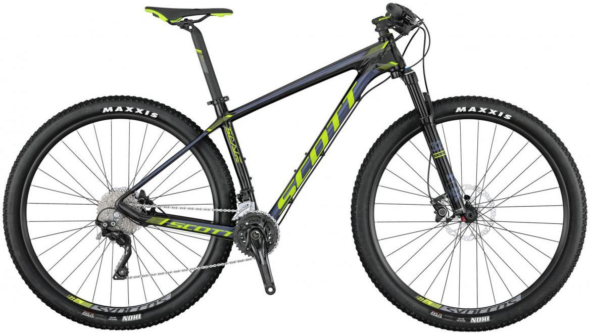 Велосипед горный Scott Scale 735 2017, цвет: серый, рама 18, колесо 27,5275455