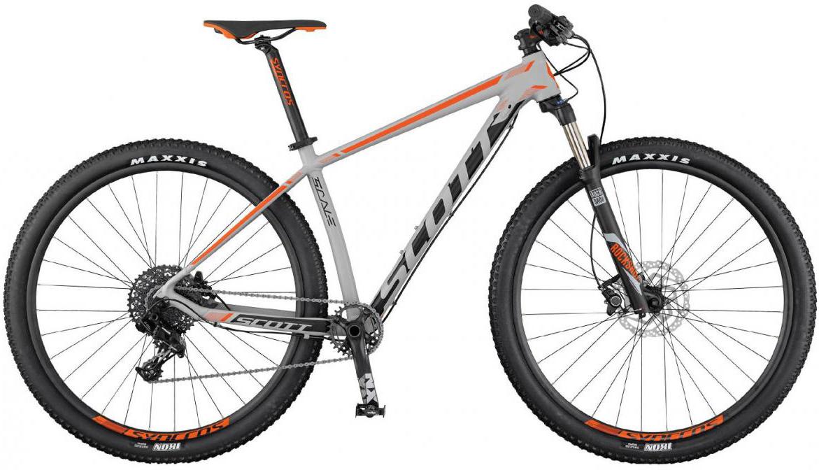 Велосипед горный Scott Scale 765 2017, цвет: серый, рама 20, колесо 27,5275481