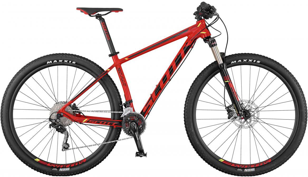 Велосипед горный Scott Scale 770 2017, цвет: красный, рама 18, колесо 27,5275485