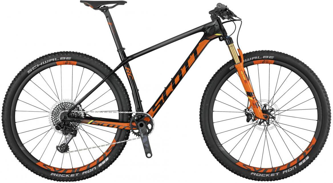 Велосипед горный Scott Scale RC 900 SL 2017, цвет: оранжевый, рама 22, колесо 29275581
