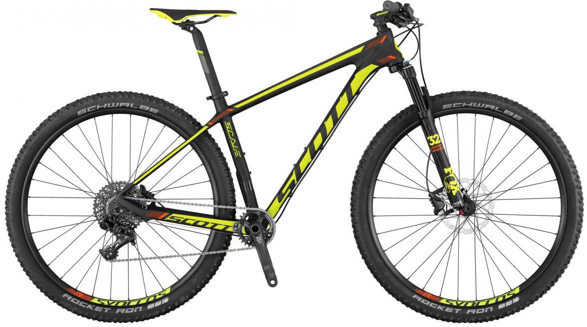 Велосипед горный Scott Scale 930 2017, цвет: желтый, рама 20, колесо 29275645