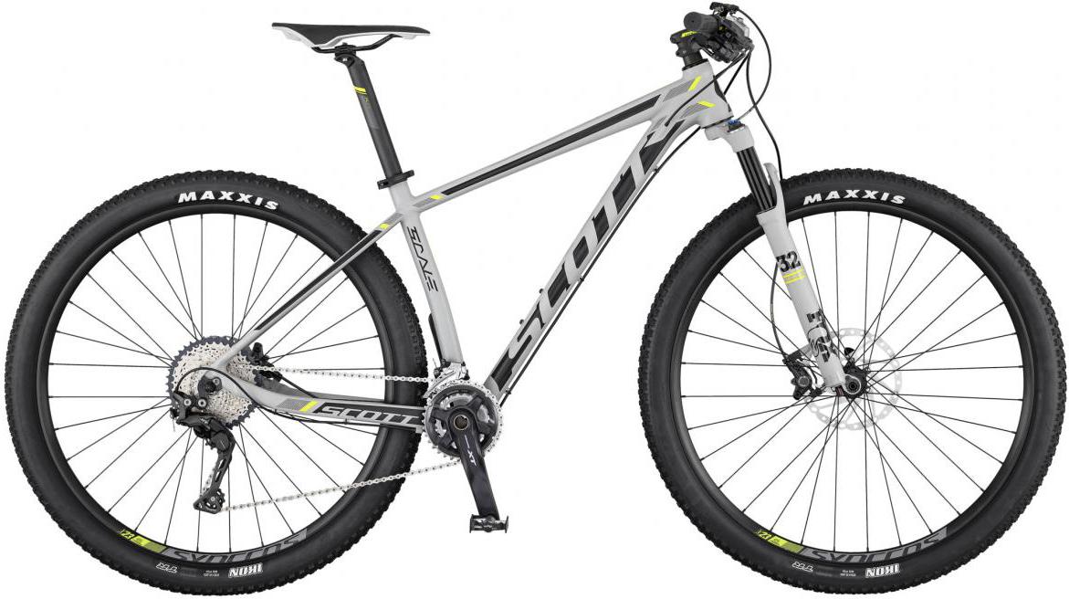 Велосипед горный Scott Scale 940 2017, цвет: белый, рама 24, колесо 29275663