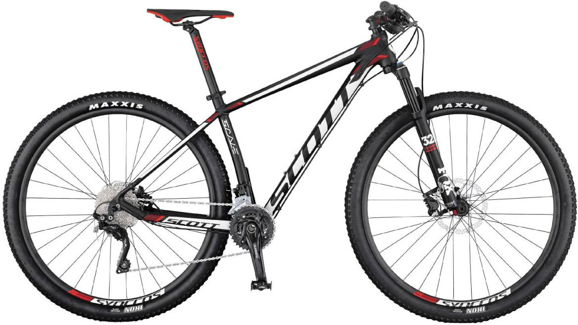 Велосипед горный Scott Scale 950 2017, цвет: белый, рама 18, колесо 29275690