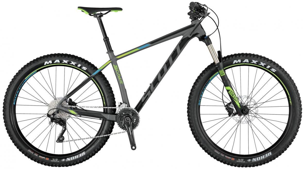 Велосипед горный Scott Scale 720 Plus 2017, цвет: серый, рама 18, колесо 27,5275761
