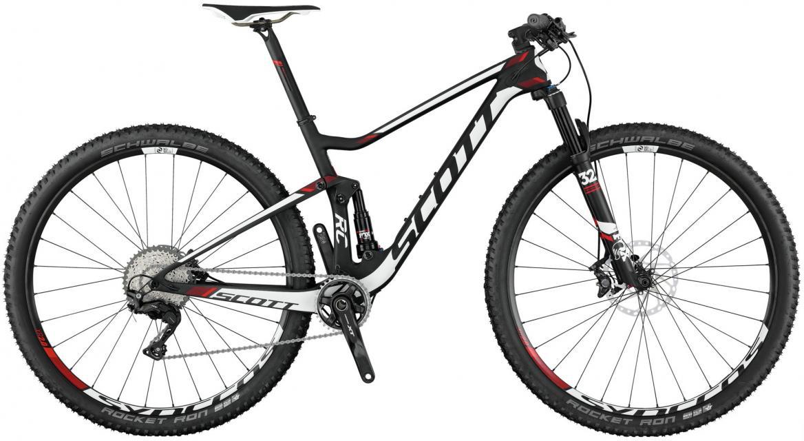 Велосипед горный Scott Spark RC 700 Pro 2017, двухподвесный, цвет: белый, рама 18, колесо 27,5275836