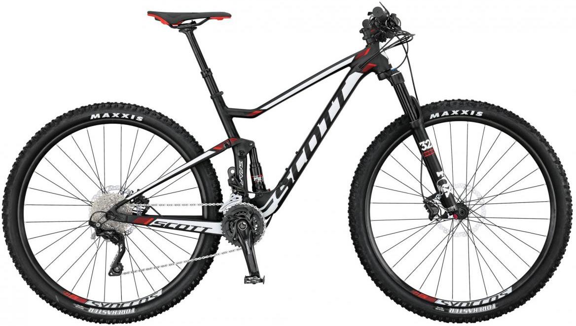 Велосипед горный Scott Spark 950 2017, двухподвесный, цвет: белый, рама 22, колесо 29276044