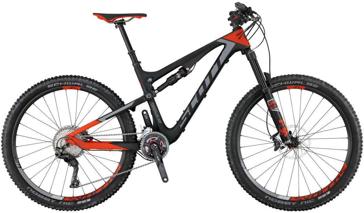Велосипед горный Scott Genius 710 2017, двухподвесный, цвет: серый, рама 22, колесо 27,5276151