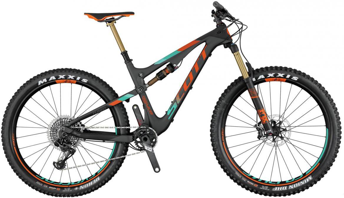 Велосипед горный Scott Genius 700 Plus Tuned 2017, двухподвесный, цвет: серый, рама 20, колесо 27,5276172
