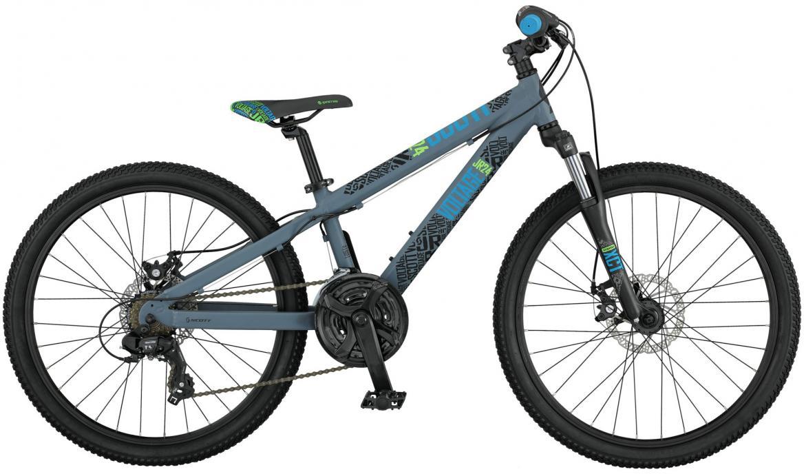 Велосипед детский Scott Voltage JR Disc 2017, цвет: серый, рама , колесо 24276401