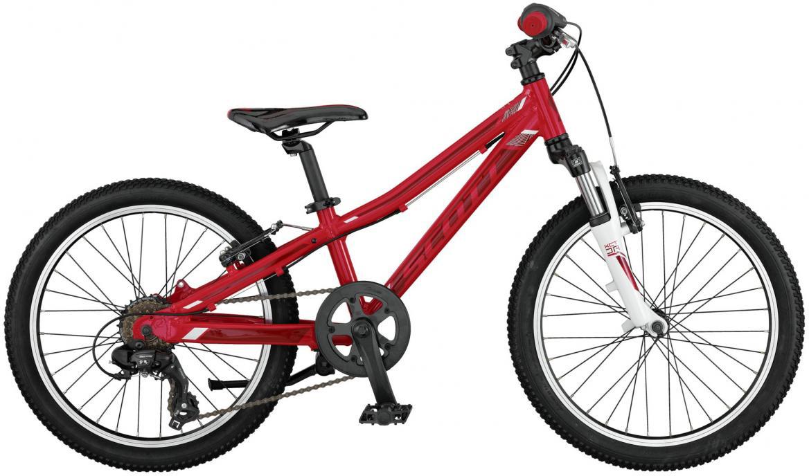 Велосипед детский Scott Contessa JR 2017, цвет: красный, рама , колесо 20276408