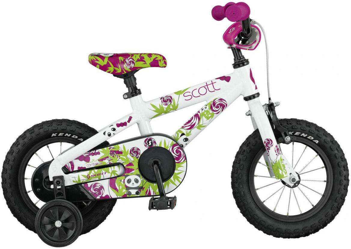 Велосипед детский Scott Contessa JR 2017, цвет: белый, рама , колесо 12276412