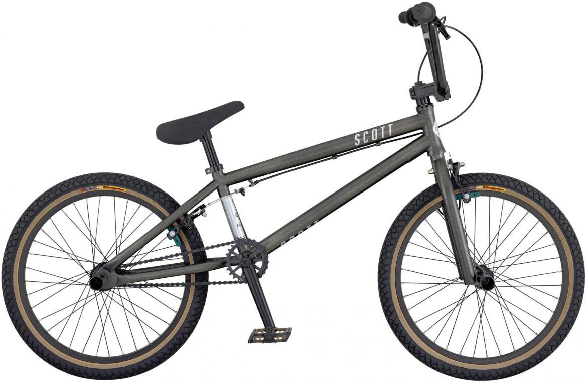 Велосипед трюковый Scott Volt-X 10 2017, цвет: серый, рама , колесо 20276417