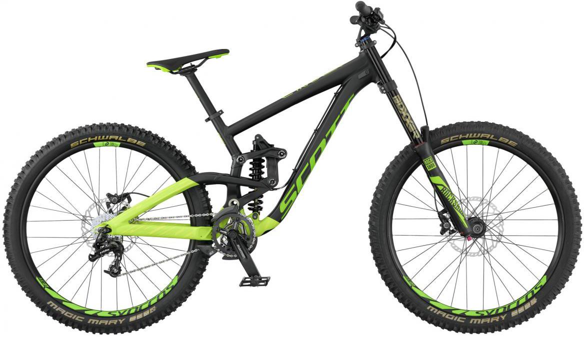 Велосипед горный Scott Gambler 730 2017, двухподвесный, цвет: зеленый, рама 16, колесо 27,5276434
