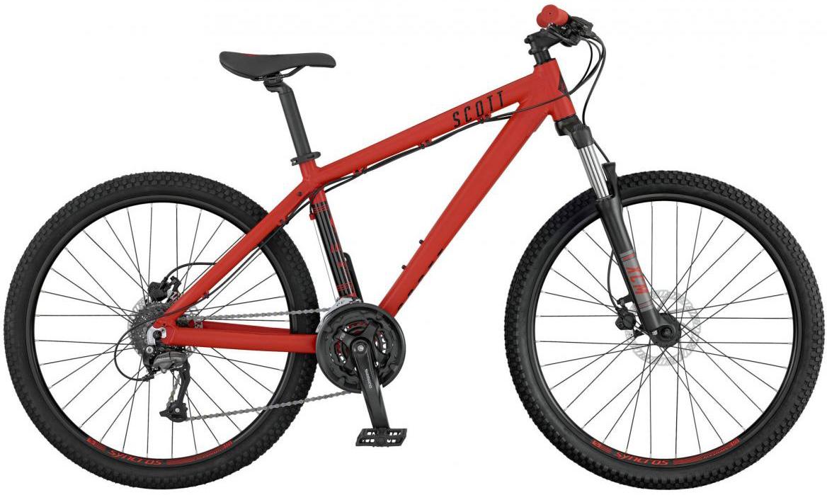 Велосипед горный Scott Voltage YZ 10 2017, цвет: красный, рама 14, колесо 26276448