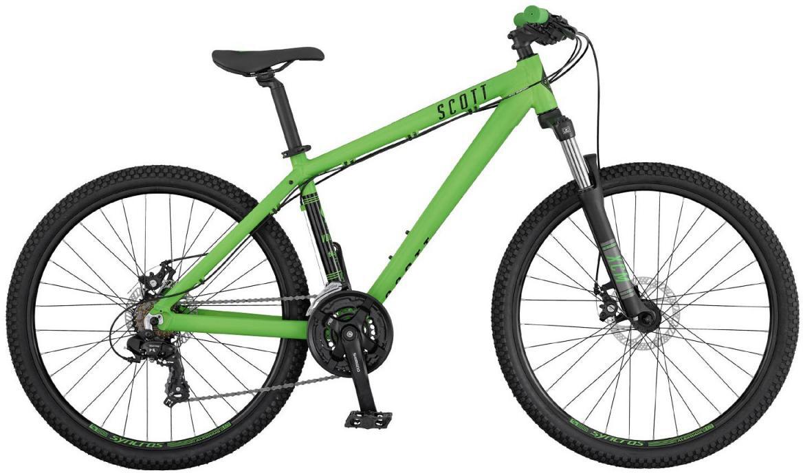 Велосипед горный Scott Voltage YZ 20 2017, цвет: зеленый, рама 16, колесо 26276453