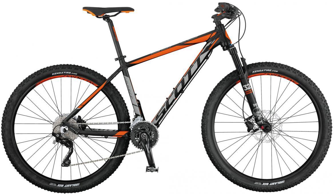 Велосипед горный Scott Aspect 700 2017, цвет: оранжевый, рама 20, колесо 27,5276459