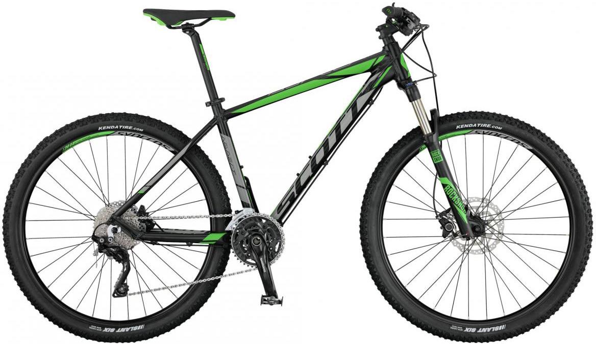 Велосипед горный Scott Aspect 710 2017, цвет: зеленый, рама 16, колесо 27,5276462