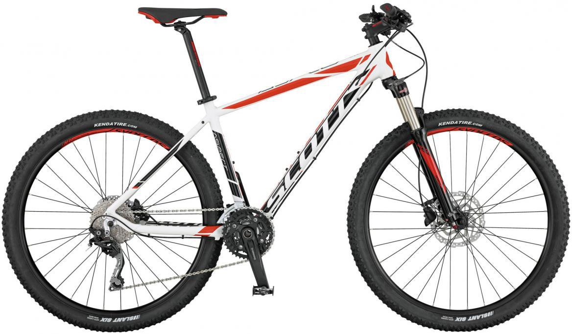 Велосипед горный Scott Aspect 720 2017, цвет: белый, рама 20, колесо 27,5276474
