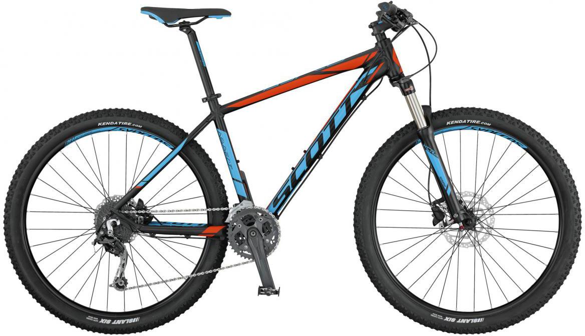 Велосипед горный Scott Aspect 730 2017, цвет: голубой, рама 20, колесо 27,5276484