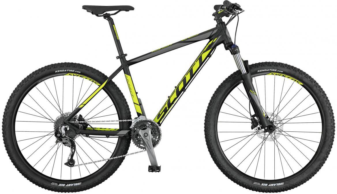 Велосипед горный Scott Aspect 740 2017, цвет: желтый, рама 20, колесо 27,5276489