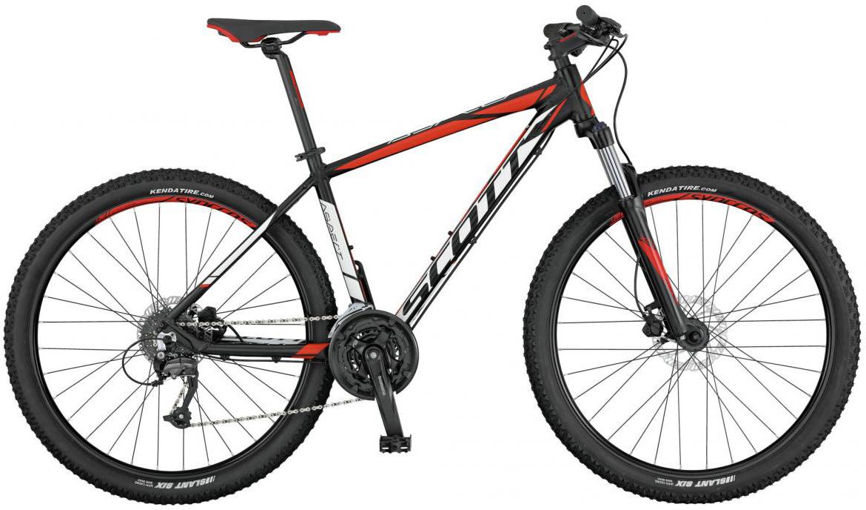 Велосипед горный Scott Aspect 750 2017, цвет: оранжевый, рама 18, колесо 27,5276499
