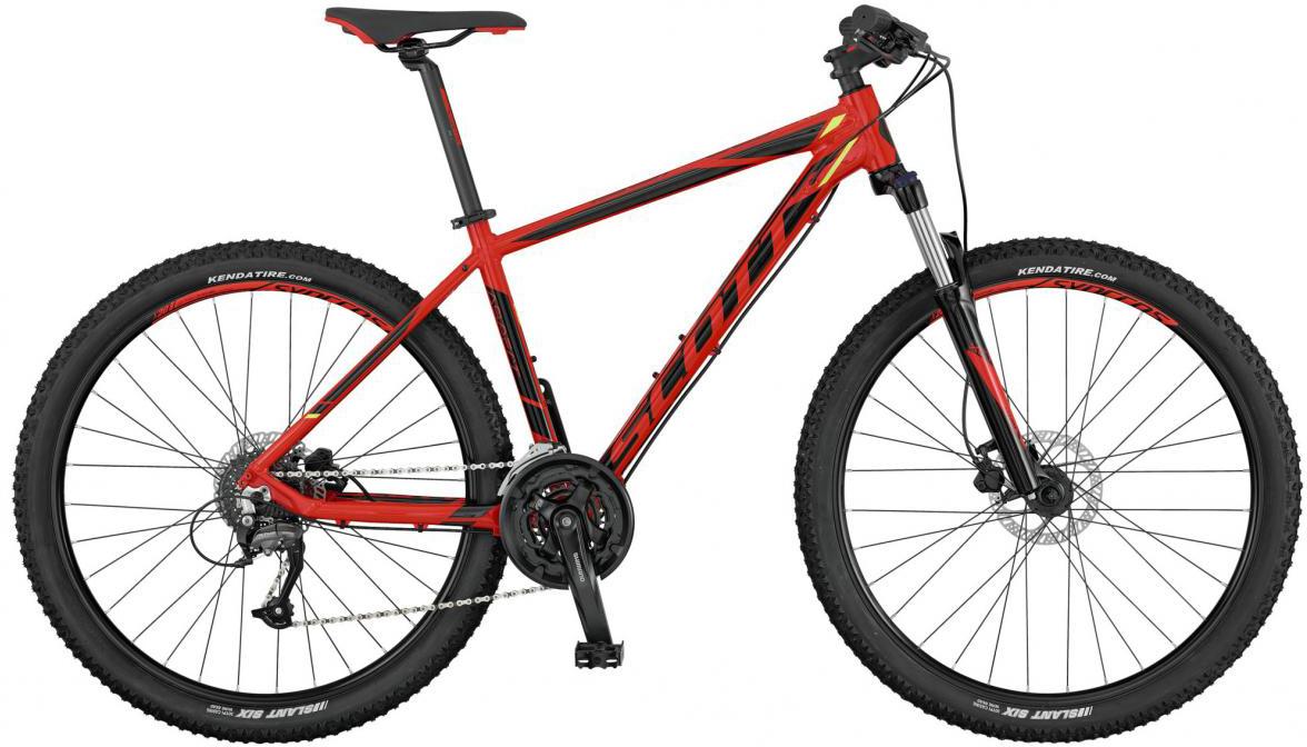 Велосипед горный Scott Aspect 750 2017, цвет: красный, рама 16, колесо 27,5276503