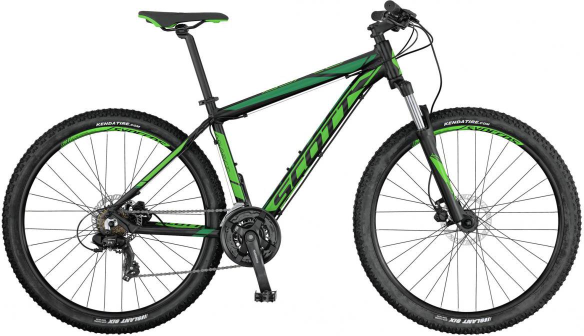 Велосипед горный Scott Aspect 760 2017, цвет: зеленый, рама 22, колесо 27,5276511