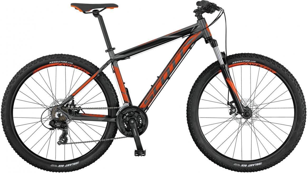 Велосипед горный Scott Aspect 970 2017, цвет: оранжевый, рама 24, колесо 29276580