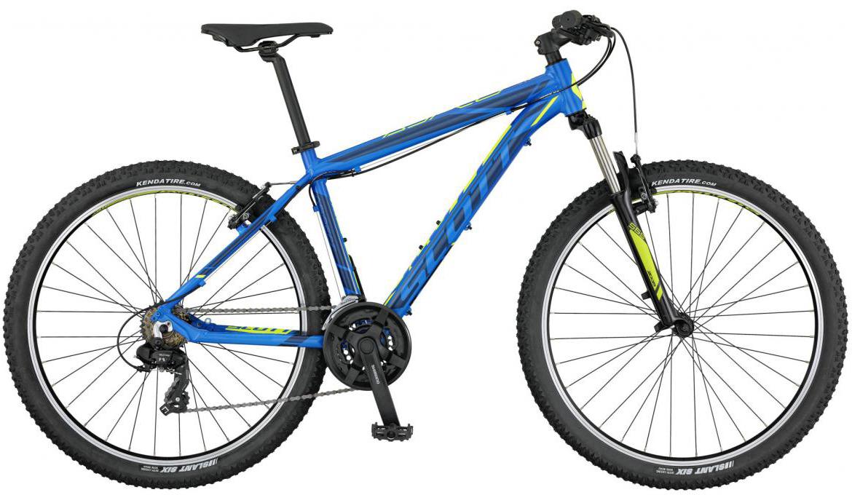 Велосипед горный Scott Aspect 980 2017, цвет: синий, рама 16, колесо 29276581