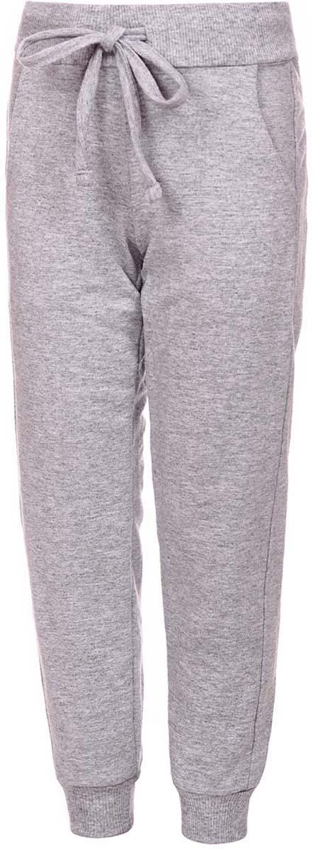Брюки спортивные детские M&D, цвет: серый меланж. Б1917В82. Размер 164 брюки спортивные мужские quiksilver цвет темно серый меланж eqyfb03059 ktfh размер m 48