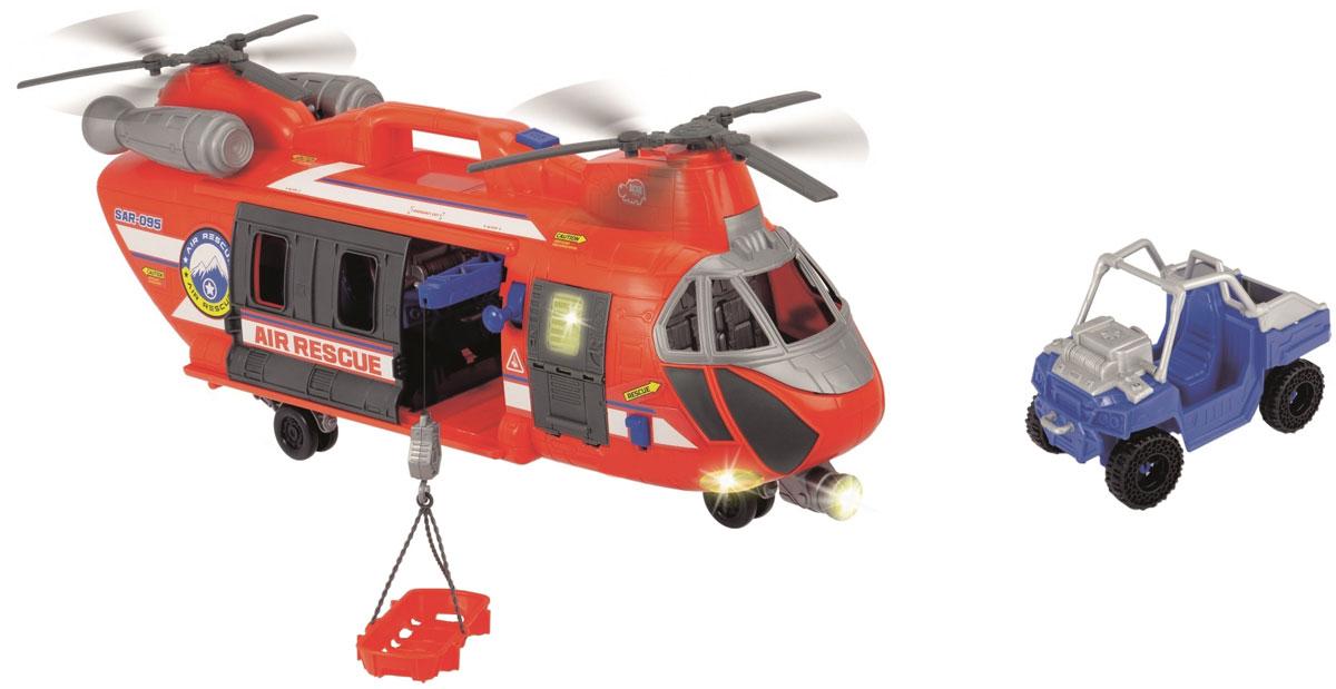 Dickie Toys Вертолет спасателей dickie toys машинка bumblebee