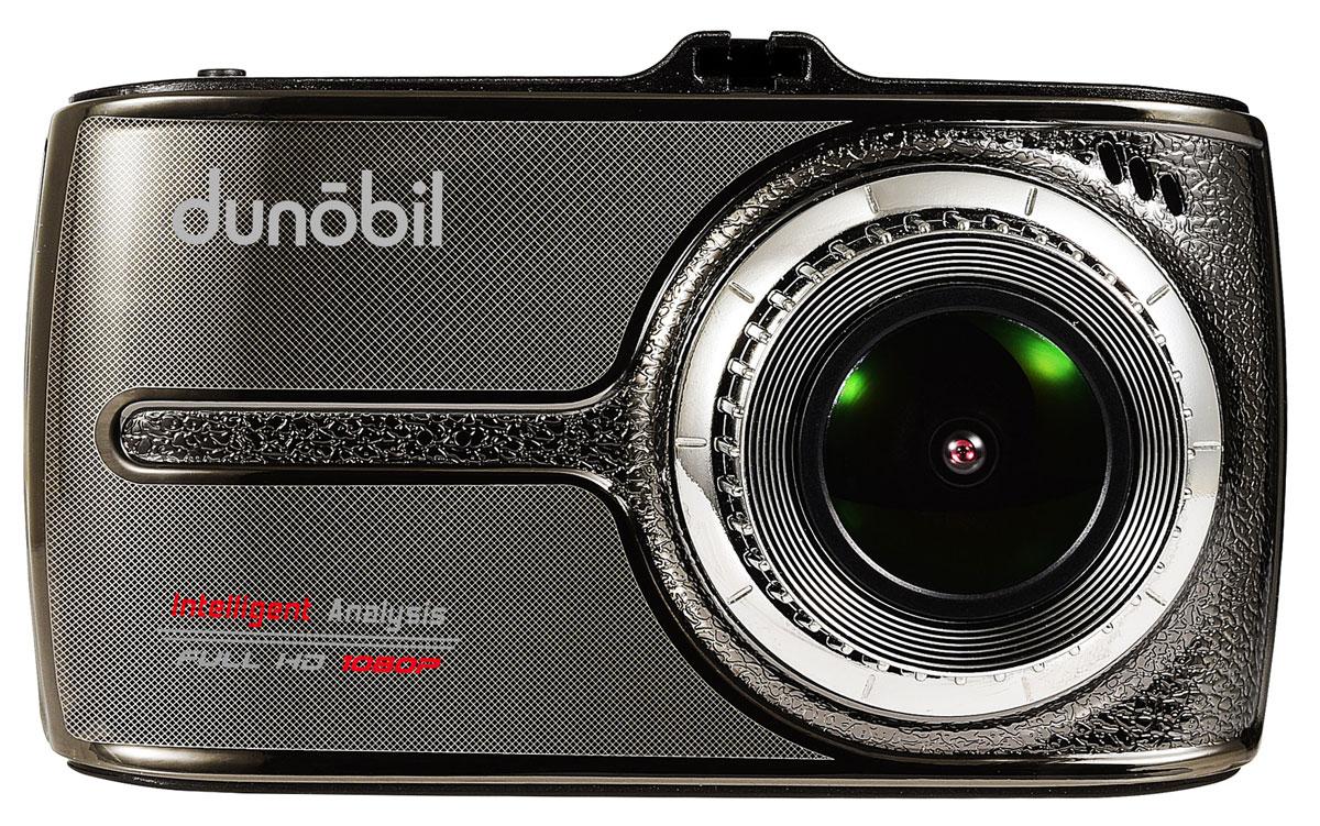 Dunobil Space Touch Duo, Black Dark Gray видеорегистраторZMABAF2Компания Dunobil представляет вам Dunobil Space touch Duo с двумя камерами и сенсорным экраном. Оснащение второй камерой HD 720р открывает новые возможности контроля. С помощью неё можно контролировать дорожную ситуации позади автомобиля или записывать происходящее в салоне. Вторая камера выполнена в виде выносного блока, который в зависимости от задачи можно зафиксировать на лобовое или заднее стекло. Обеспечивается угол обзора в 170 градусов по диагонали. Процессор NTK96655 и оптический датчик Sony IMX323 позволяют четко фиксировать номерные знаки на большом расстоянии. Отдельного внимания заслуживает четкость и контрастность. Разрешение съемки - Full HD со скоростью 30 кадров в секунду. Запись проводится в формате MOV. Запись 2х канальная, одновременно с передней и задней камер.Dunobil Space touch Duo имеет сенсорный экран для удобного и быстрого управления всеми функциями меню.Dunobil Space touch Duo довольно компактен для двухкамерного видеорегистратора. Модуль G-сенсора отвечает за автоматическое сохранение записи при сильной встряске автомобиля или резком торможении. Запись включается в тот же момент, как машина начинает движение. Циклическая запись без промежутков между роликами. Из особенностей также отметим батарейку с емкостью 200 мАч, 3,5-дюймовый дисплей и парковочный режим.