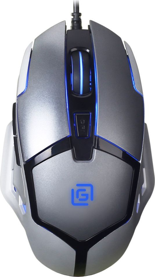Oklick 915G, Black Silver игровая мышь471478Игровая мышь начального уровня